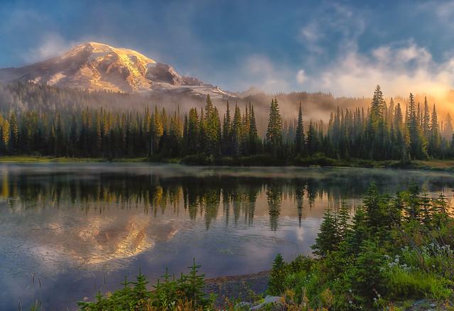 A Rainier Sunrise