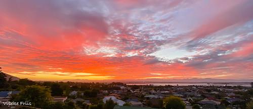 myview sunset nelson nelsonprovince newzealand