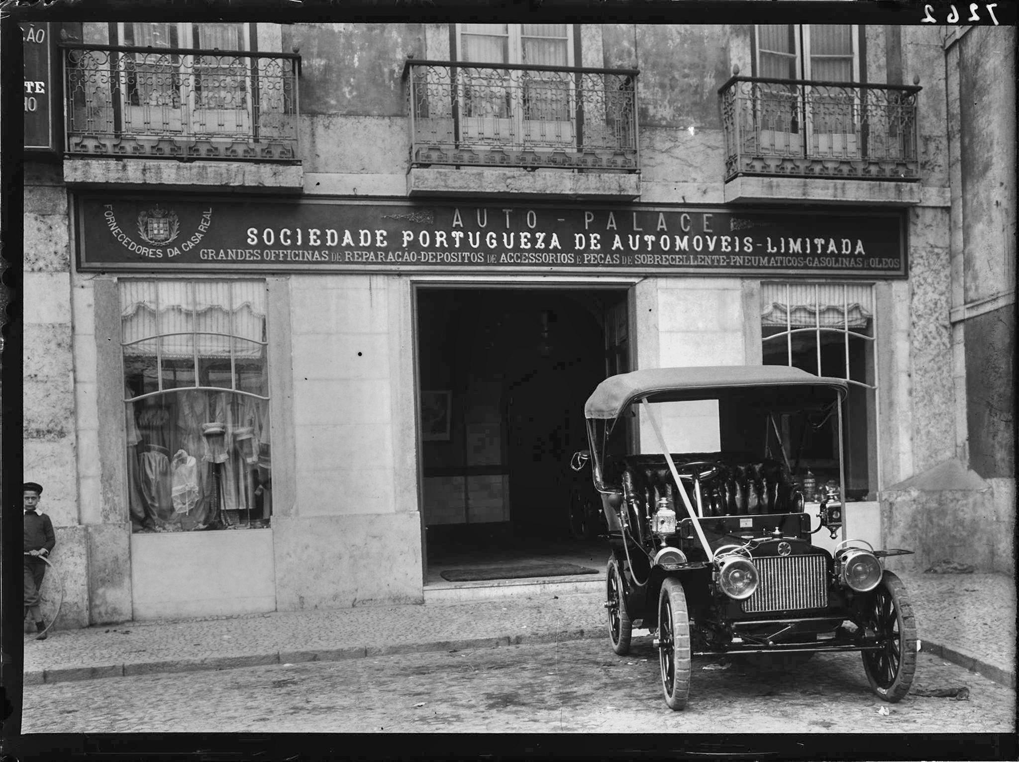Auto- Palace, Soc. Portugueza de Automoveis, Ltda. (P. Guedes, 190...)