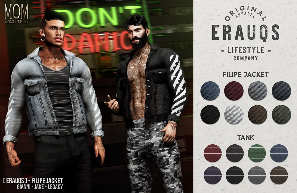 [ ERAUQS ] – Filipe Jacket at Men Only Monthly