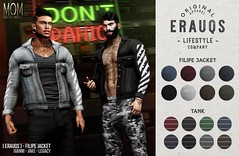 [ ERAUQS ] - Filipe Jacket at Men Only Monthly