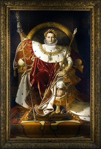 Ingres, Napoleon on His Imperial Throne | by profzucker