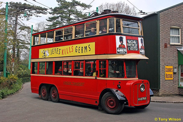 HX2756 London Transport LTE number 1