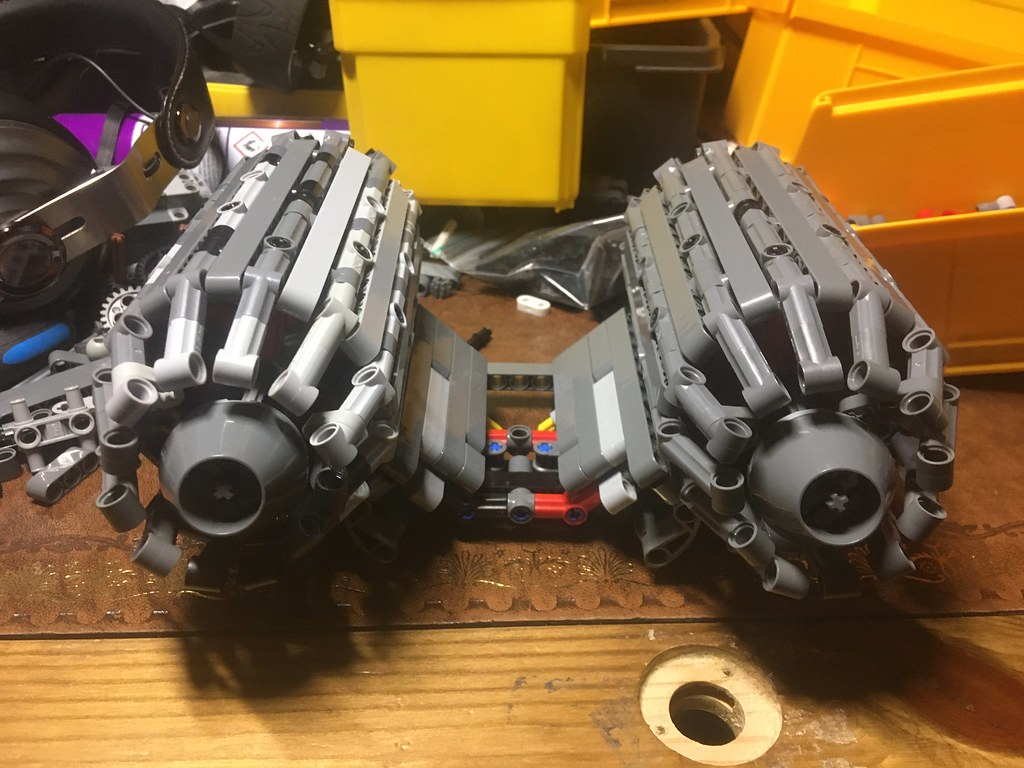 Engine pods.