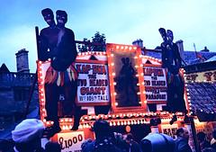 Oxford: St Giles Fair 1963: Kap-Dwa the Two Headed Giant