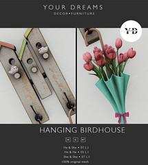 {YD}  Hanging Birdhouse