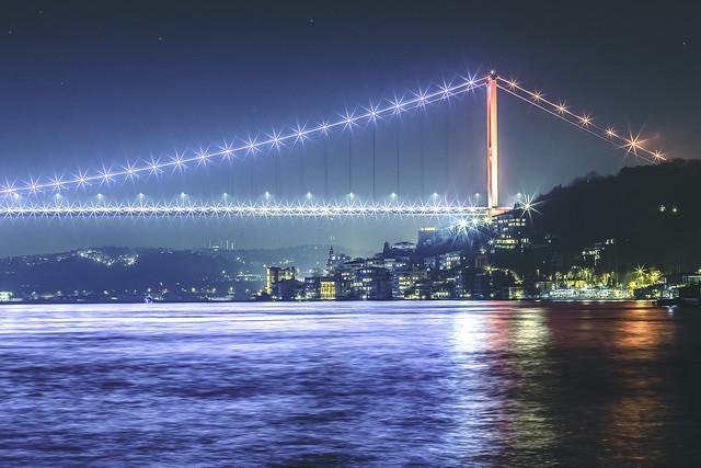 Bosphorus at Night