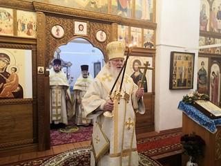 21.02.2021   Божественная литургия в храме свт. Климента, папы Римского