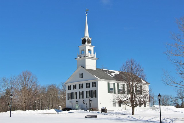 Second Rindge Meetinghouse /First Congregational Church of Rindge – Rindge, New Hampshire