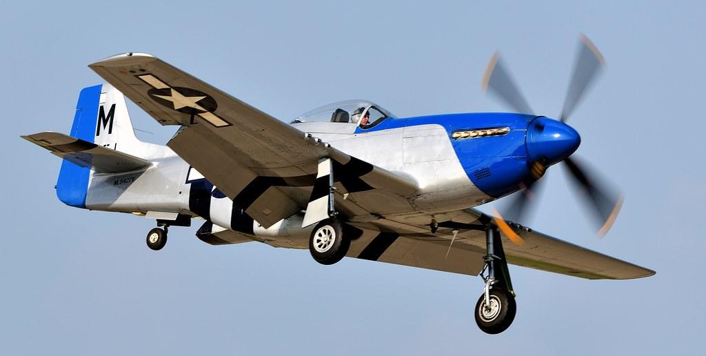 North American P-51D Mustang 414151 NL5427V N5427V Petie 2nd 44-72942 USAF