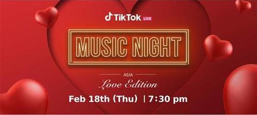 Layla Sania Wakil Malaysia Di Tiktok Music Night Asia Love Edition