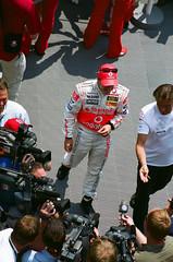 2007 United States Grand Prix Fernando Alonso