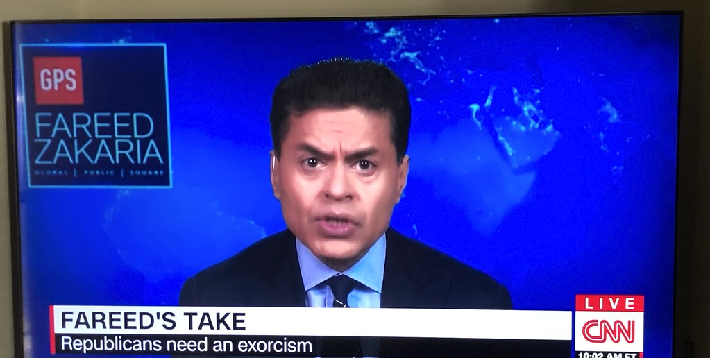 Fareed Zakaria plagiarizes my concept of Exorcism of the Republicans 2-21-2021