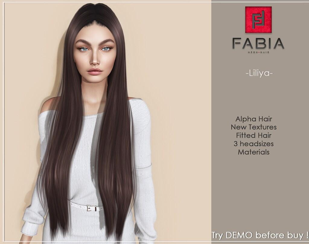 NEW! -FABIA- hair  Liliya