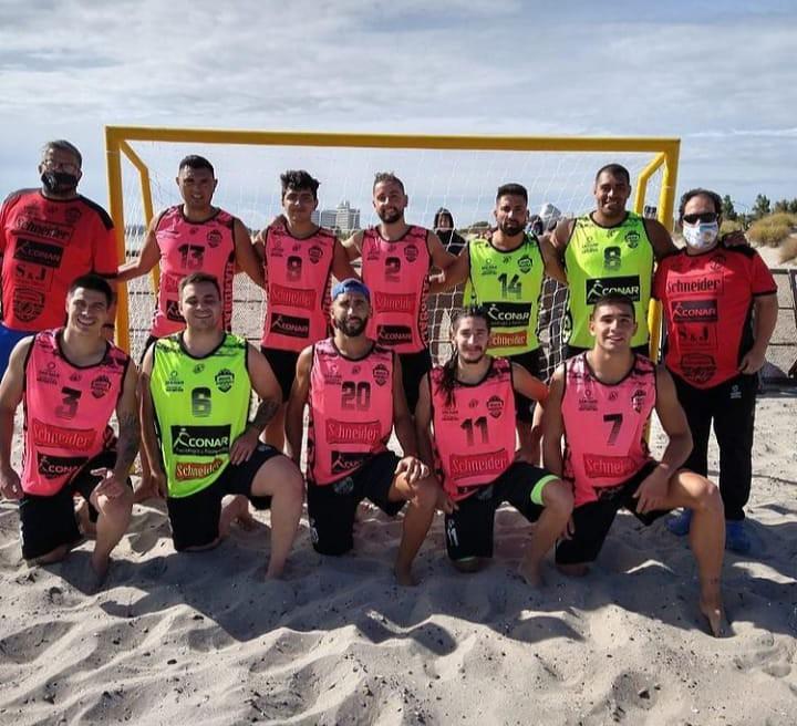 """2021-02-21 DEPORTE: """"Cierre de los equipos sanjuaninos en la Copa Argentina de Beach Handball """""""