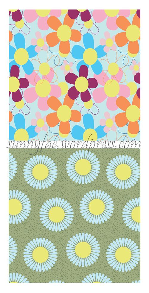 illustrator flower patterns