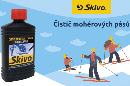 České, levné a účinné Skivo. I lyže s kožíškem se musí čistit