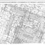 Поля Александра проспект, 4-8А - Карта М1-500 PAPER800 [Бердик А.Н.] [Житников В.В.]