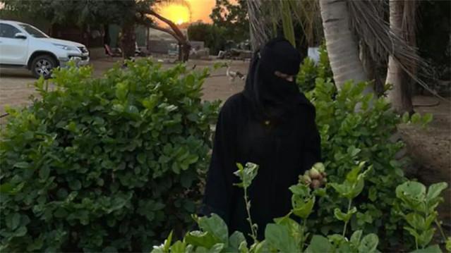5936 Saudi graduate woman starts animal farming 04