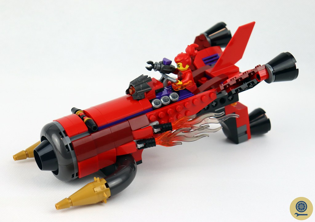 80019 Red Son's Inferno Jet 7