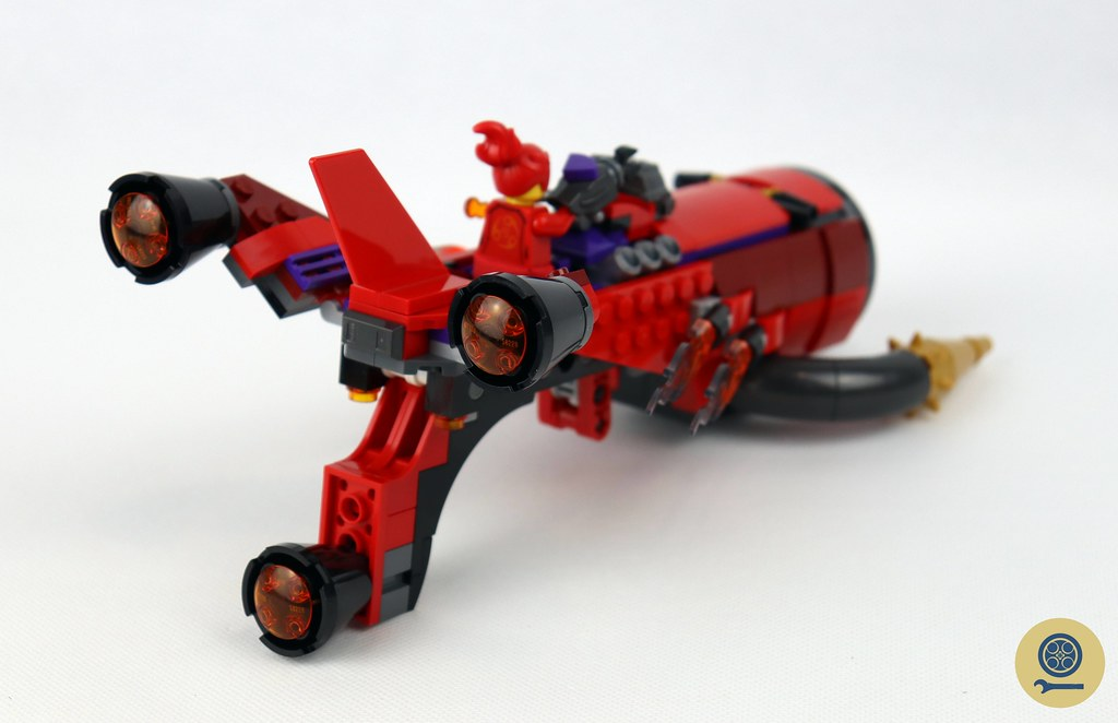 80019 Red Son's Inferno Jet 6