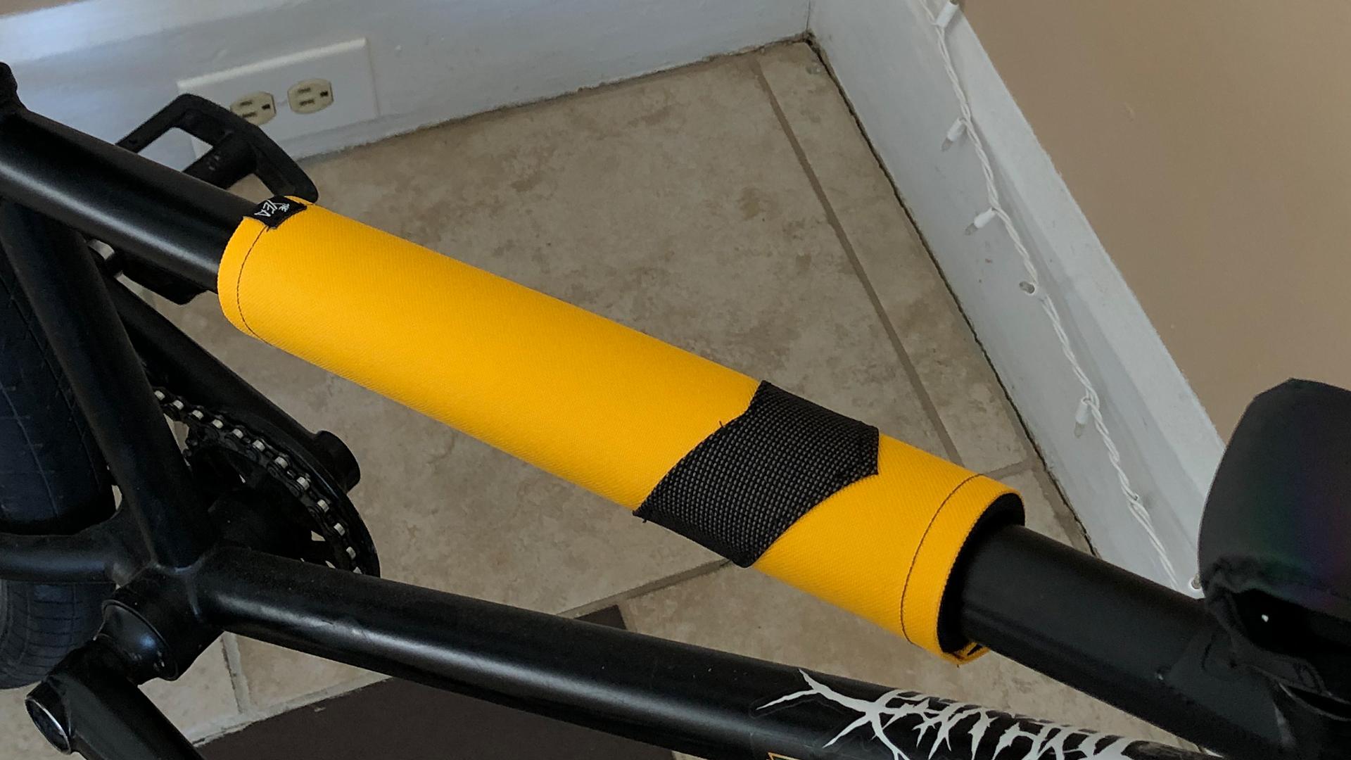 The Yea BMX 1of1 top tube bmx pad