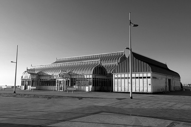 Travelling Memories : East Point Pavilion In B&W, Lowestoft 2018