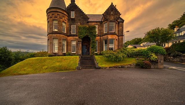 The House, Oban, Scotland.