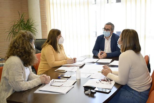 Reunión Delegación Biestar Social Los Palacios y Vfca