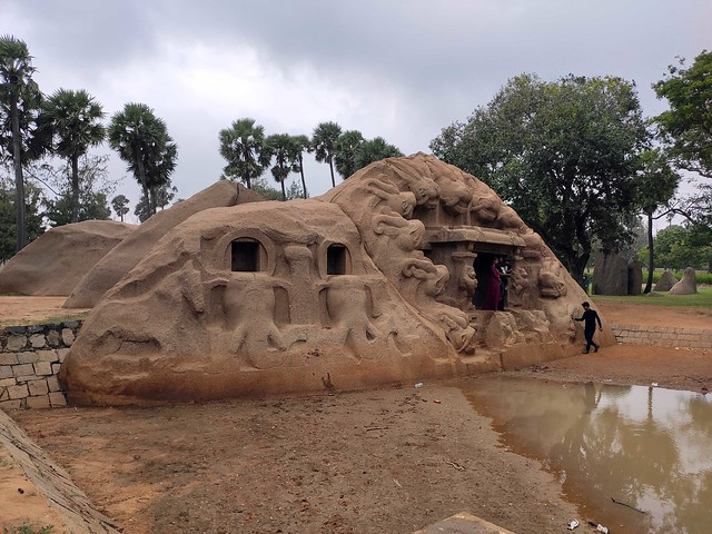 Tiger Cave complex, Mahabalipuram