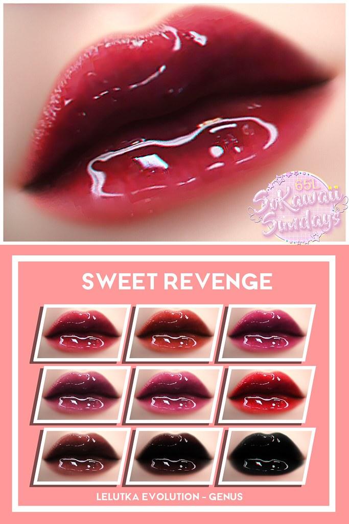 Sweet Revenge lips !!
