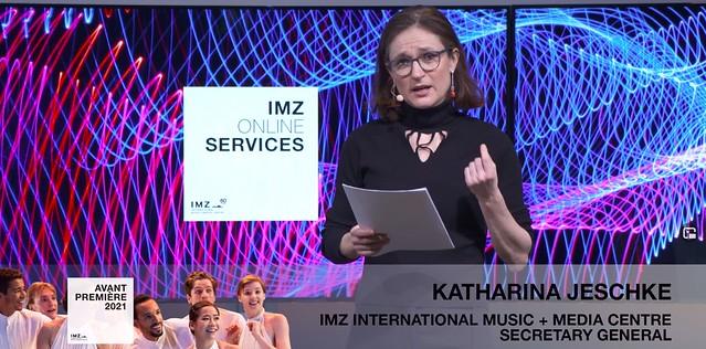 Avant Première 2021: Presentation IMZ Online Services