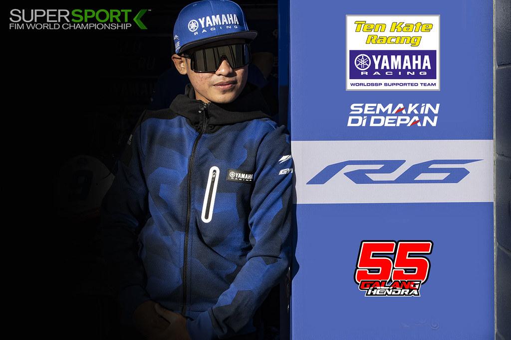 Galang Hendra Pratama Target 10 Besar di World Supersport Championship 2021