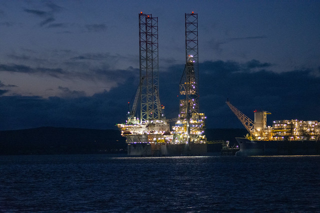 Oil Rig, Cromarty Firth