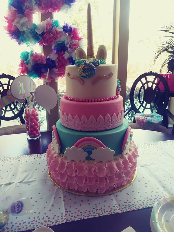 Cake by Cassaundra's Confections