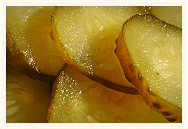 sour cucumber :)