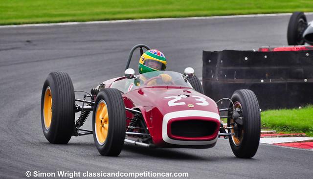 Malcolm Ricketts Lotus 18 10th 3rd Pre 66 GP