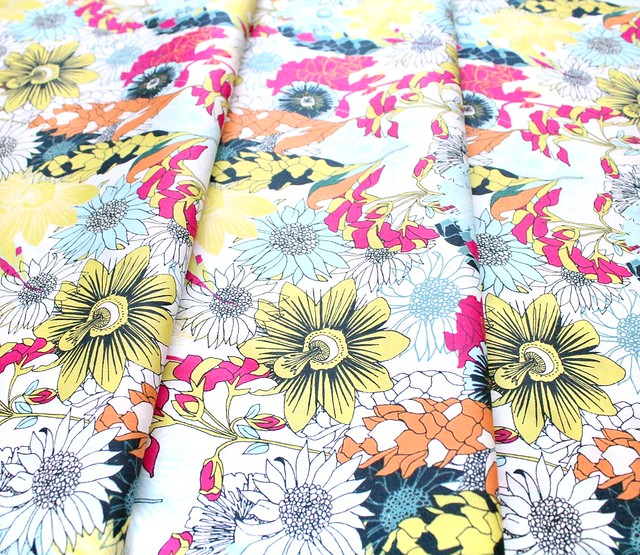 Art Gallery Fabrics Pollinate Abundant Meadow