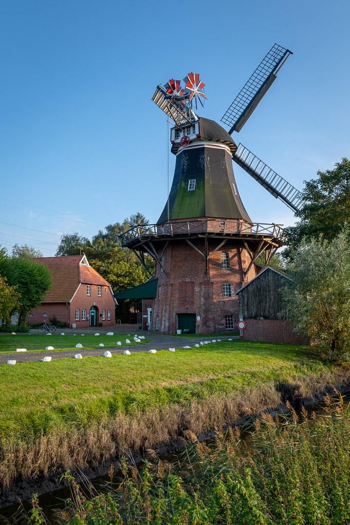 Windmill at the North Sea