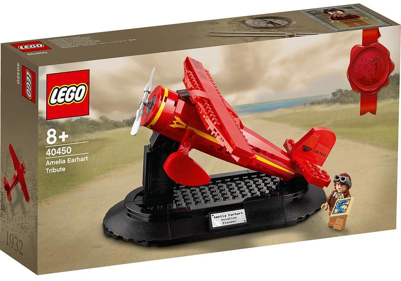LEGO Amelia Earhart GWP 1