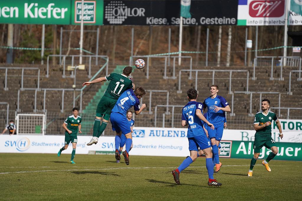 20.02.2021 | Saison 2020/21 | FC 08 Homburg | TSV Schott Mainz
