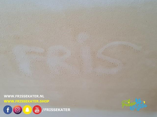 Nicotineaanslag verwijderen / Nicotine staining removal 13 - Schoonmaakbedrijf Frisse Kater