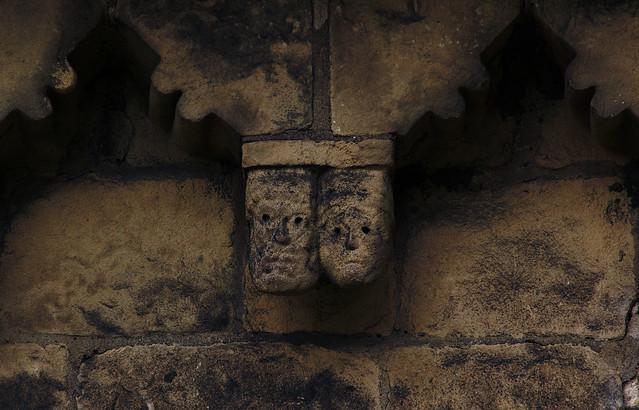 Adel, Yorkshire, St. John the Baptist, south wall, corbel