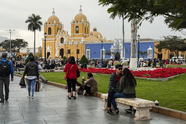 Plaza de armas. Trujillo. Perú