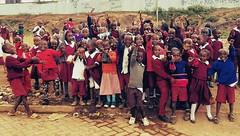 Schulbau in Malawi
