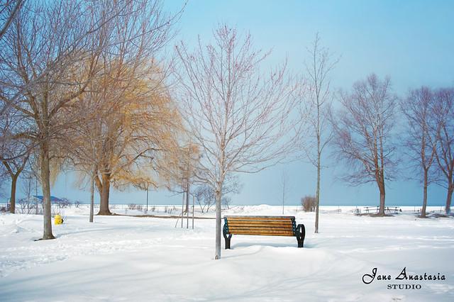 ....after the big snowfall at the lake ......HBM!