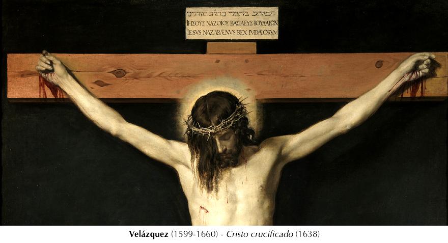 Cristo crucificado - Valásquez