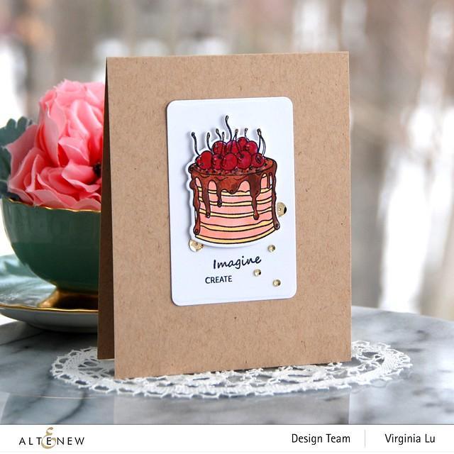 Altenew-Mini Crepe Cake Stamp & Die Bundle