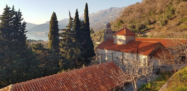 monastery Praskvitsa and Budvanska riviera