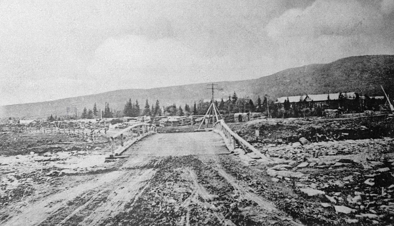 03. 1912. Место расстрела. 4 апреля